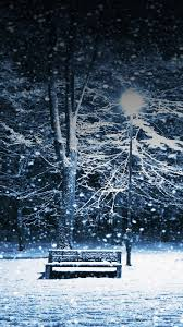 wallpaper cho galaxy s5 lonely christmas snowing park samsung wallpapers samsung galaxy s5