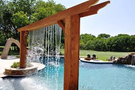 Pool With Pergola by Rockwall Pool Design Dallas Photo Gallery Outdoor Living