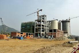 cement factory under construction cement factory the himalayan times
