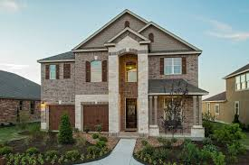 Texas Ranch House Plans New Homes For Sale In Leander Tx Mason Hills Community By Kb Home