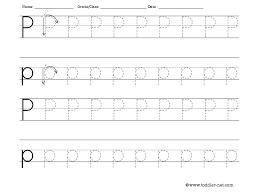 letter p worksheets for preschool worksheets