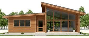 houses plan modern house plan ch286