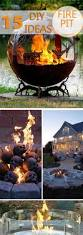 fire pits for backyard 15 creative fire pit diy ideas for backyard creative ideas
