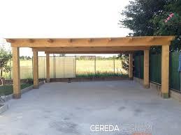 tettoia auto legno produzione box auto legno cereda legnami agrate brianza