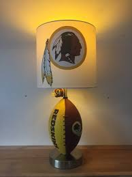 washington redskins home decor football lamp nfl light kids