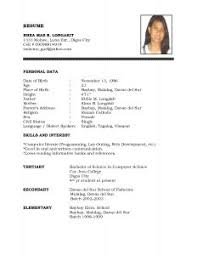 Copy Of Resume Template Exles Of Resumes Resume Copies Template Word How To