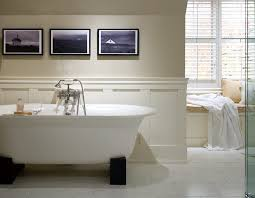 Bathroom With Wainscoting Ideas Wainscoting Designs Bathroom Traditional With Soaker Tub Window