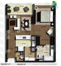1 bedroom apartment unit floor plan al nada al muneera al raha