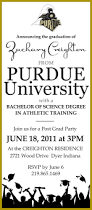 purdue logo graduation invitation purdue university graduation
