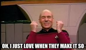 Meme Make - oh i just love when they make it so picard wins quickmeme