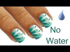 drinking water marble nail artwork tutorial enchanted forest red