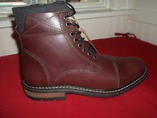 s lace up combat boots size 12 crevo s camden leather fashion combat boots 12 brown ebay