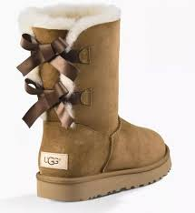 womens ugg bailey boots chestnut ugg bailey bow ii chestnut womens boots with bows on