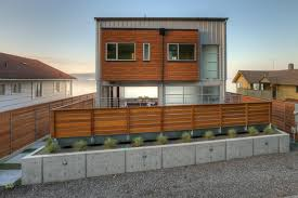 home exterior design small concrete also wood modern architecture home exterior among small
