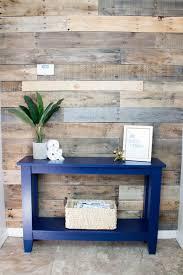 Free Wooden Wall Shelf Plans by Diy Narrow Hallway Table Plus Free Plans Addicted 2 Diy