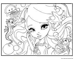 barbie coloring pages print printable beautiful face barbie coloring pages for girlsfree