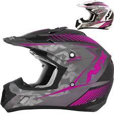 womens motocross gear packages afx fx 17 factor womens mx atv dirt bike off road motocross helmets