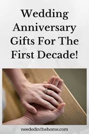 8th anniversary gift ideas for wedding anniversary gifts for the decade neededinthehome