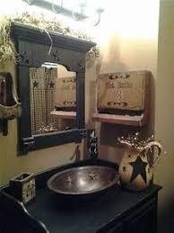 Primitive Bathroom Decor Home Design Gallery