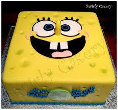 spongebob birthday cake spongebob birthday cake vanilla bean cake w vanilla