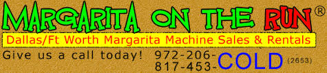 Margarita Machine Rental Houston Margarita On The Run Margarita Machine Rentals And Sales