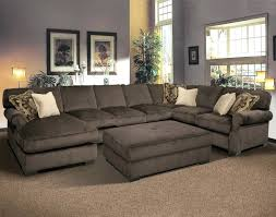 Brown Leather Sectional Sofa by Lounge Chaise Sectional Couch With Sofas Intended For Incredible