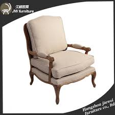 French Linen Armchair Antique Reproduction Armchairs French Furniture Antique