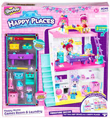 happy places shopkins s2 laundry and games room studio moose toys