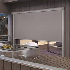 Blackout Roller Blinds With Side Channels Windproof Normal Side Channel Outdoor Roller Blinds Buy