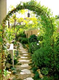 diy garden design ideas with green trees and grass intended for