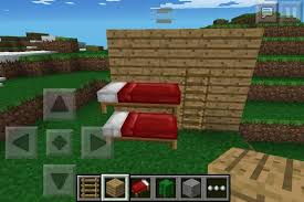 Minecraft How To Make A Bunk Bed How To Make A Bunk Bed In Minecraft Free Simple Balsa