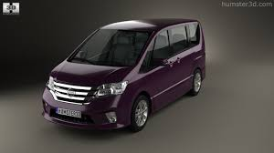 nissan serena 2010 360 view of nissan serena highway star 2013 3d model hum3d store