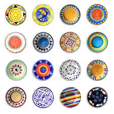 Decorative Hanging Plates Online Shop 16 Pcs Decorative Plate Decoration Background Wall