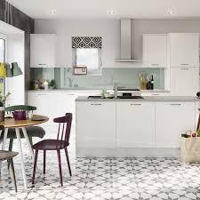 kitchens kitchen units magnet gloss white shaker