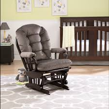 Maternity Rocking Chair Best Chairs Geneva Wood Glider Caviar Velvet Espresso Babies