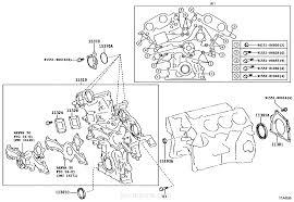 lexus rx 450h timing chain timing gear cover u0026 rear end plate lexus part list jp
