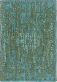 Turquoise Brown Rug Alby Rug Turquoise