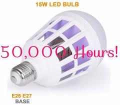 light bulb bug zapper reviews household bug zapper 50 000 hour 2 in 1 mosquito light bulb 15watt
