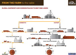 from farm to table farm to table shipping paths of us soybeans if used credi flickr