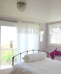 white bedroom ideas with colour what curtains go cream walls and