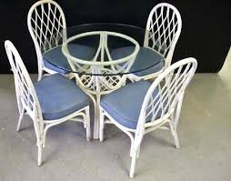wicker dining table with glass top wicker dining table with glass top wicker glass top dining table