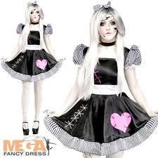 Voodoo Doll Costume Halloween Halloween Doll Costume Ebay