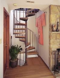 Home Interior Stairs Design Small Spiral Staircase Dimensions Stainless Steel Handrail And