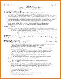 Resume Sample Summary Statement by Resume Summary Statements