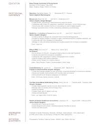 Ballet Resume Interactive Copywriter Resume