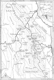 Death Valley Map Death Valley Trails A Personal Narrative Of People And Places By