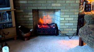 fireplace simply electric fireplace insert with bricked wall for