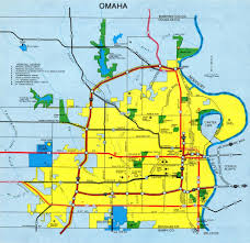 Omaha Nebraska Map Interstate Guide Interstate 580 Nebraska