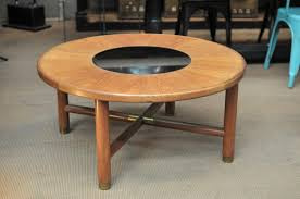 round danish teak coffee table 1960s for sale at pamono outd thippo
