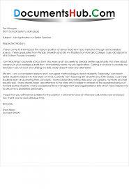 montessori teacher cover letter gallery cover letter sample